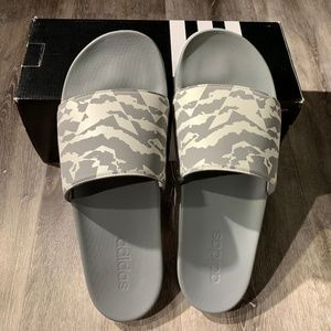 Adidas Performance Training Slippers Sandals Camo